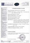 Certificazione UNI 9177 - Canalizzata NO-FIRE - Resistenza al Fuoco