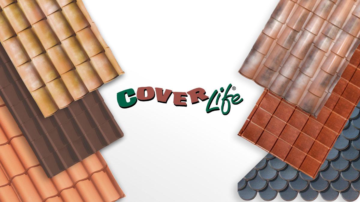 Lastre di copertura residenziali linea Cover-Life