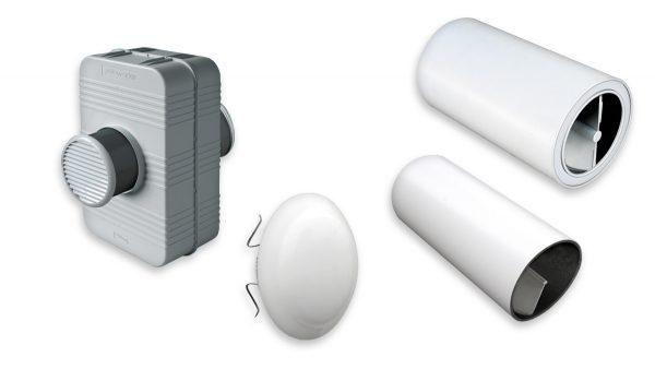 Silenziatori per fori di ventilazione