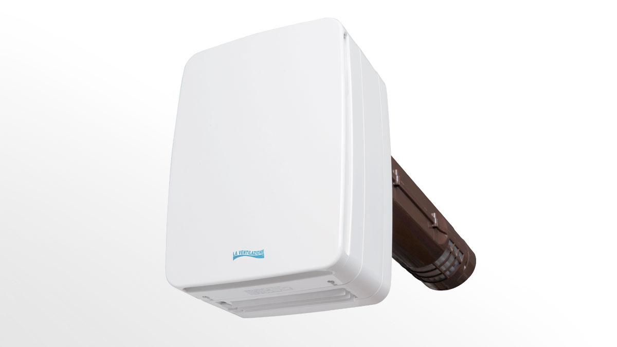 Ventilatore con recuperatore di calore doppio flusso V-ECO100
